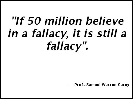 popular falacies essay Logical fallacies 1 logical fallacies handlist: arguments to avoid when writing the most common form of this fallacy is when the claim is.